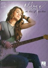 Miley Cyrus The Time Of Our Lives piano vocal guitar songbook sheet music