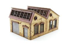Fabrikhalle, für 15 mm Tabletop, z.B. FOW/Factory building for 15 mm Tabletop