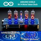 IN-14 Arduino Shield NCS314-4 Nixie Tubes Clock Column Sockets Arduino 4 TUBES