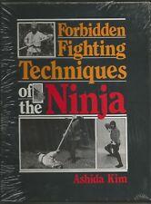 FORBIDDEN FIGHTING NINJA ASHIDA KIM PALADIN PRESS HC 1984    NEW IN WRAP