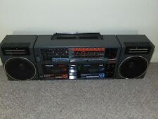 Vintage/Retro BOOMBOX GHETTO BLASTER Philips D8458/05 Restored.