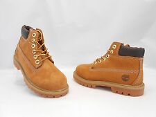 """Timberland 6"""" Premium Boots Casual Suede Wheat Brown Toddlers Size 8 FMWOB!"""