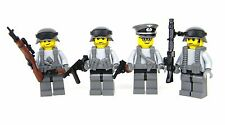 custom WW2 German Wehrmacht army squad  made w/ real LEGO(R) minifigure soldiers