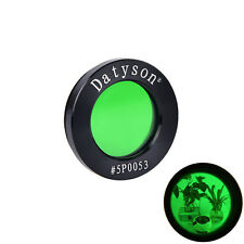 datyson Vollmetall-Mondfilter Grünfilter 1,25Zoll 5P0053 für den Mond beobachten