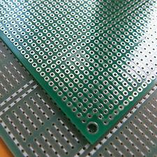 5x pcb 6.5x8cm Streifenraster Veroboard Lochraster Platine Leiterplatte 5er hole