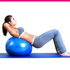 65cm Blue Exercise Anti Burst Yoga Gym Fitness Pregnancy Birthing Swiss Ball