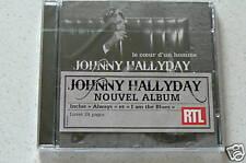 LE COEUR D'UN HOMME - HALLYDAY JOHNNY (CD) NEUF BLISTER