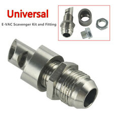 Universal Stainless Steel E-VAC Scavenger Kit and 304 Exhaust Vacuum Fitting Set