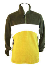 Kkrakatau Mens Polar Fleece Sweater Jacket Coat (Moss Green) - XL