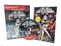 Star Wars Battlefront II 2 Sony PlayStation 2 PS2 Game