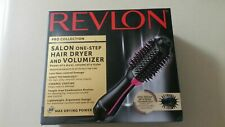 Revlon PRO Collection Salon One Step Hair Dryer/Volumizer Brush Pink Open Box