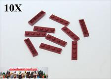 LEGO 10 pezzi PIASTRA 4x8 NERO 3032 NUOVO DISCHI IN NERO Basics bauplatte