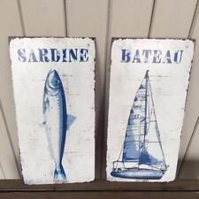 Tin Nautical Decorative Plaques & Signs