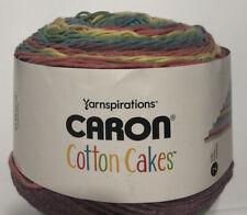 2 Caron Cotton Cakes Yarn Calico Flowers (shv24 93)
