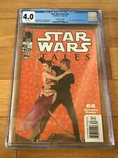 2003 Star Wars Tales #15 Carrie Fisher SLAVE LEIA Sexy Movie Photo Variant CGC