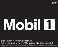 MOBIL 1 ONE Reflective Sticker  Decal Sticker Best Gifts-