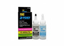 Zap Glue Z-Poxy 15 Minute Epoxy 4 oz. Set PAAPT-35
