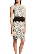 ADRIANNA PAPELL $140 NWT SZ 4 Two-Piece Printed Lace Skirt And Sleeveless Top