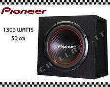 PIONEER UD-W304R Subwoofer 30 cm Closed Box 1300 watts