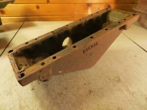 John Deere B Lower Radiator bottom Tank casting B1803R