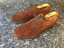 Loake Brown Suede Men's Lace Up Shoes UK 7.5, EU42