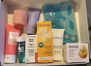 Luxury Skincare Bundle Clinique Caudalie Lancome Florence Alpha H Manuka Sebagh