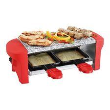 Appareil À Raclette Rouge 2 personnes DOMOCLIP Doc156r