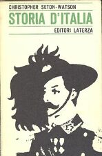 SETON-WATSON Christopher - Storia d'Italia dal 1870 al 1925