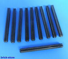LEGO technique Nr- 370626 / Barre transversale / Hache noir longueur 6 / 10-pc