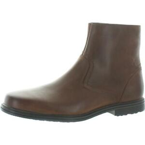 Rockport Mens Taylor Leather Waterproof Dress Boots Shoes BHFO 3158