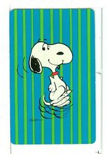 "Single Playing Cards Pin Up ""Peanuts, Snoopy"" Hallmark 1607 E"