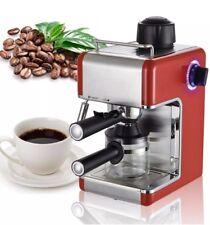 MACCHINA per il caffè Espresso Maker Latte Schiumatore Latte Macchiato Cappuccino 3.4 BAR 4 TAZZE HOME