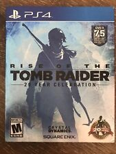 Rise of the Tomb Raider: 20 Year Celebration - PlayStation 4 Ps4 - Complete