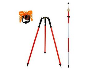 CST Optima Prism with 8ft Prism Pole and Prism Pole Tripod Package
