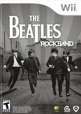 The Beatles: Rock Band -- Limited Edition (Nintendo Wii, 2009) GAME ONLY