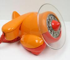 Orange Alexander Graham Plane Telephone - Full Restoration