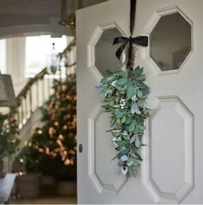 NEW The White Company Ultimate Green & Berry Swag Xmas Decoration RRP £60