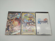 Psp Lot 3 Games Japan Used Tested