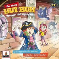 DER KLEINE HUI BUH - 012/DER VERSCHOLLENE RITTERSCHATZ/POLLY,DAS PIR   CD NEW