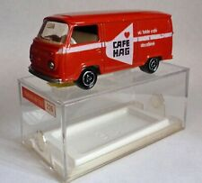 Majorette 226 Fourgon VW Volkswagen Van Cafe Hag with Nuclear Wheels