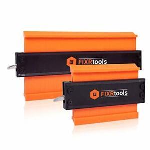Contour Gauge Profile Tool - 10 Inch+5 Shape Adjustable Lock Tracing Widen Super