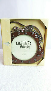 LifeStyle Studios 4 x 4 Purse Style Embellished Picture Frame