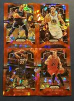 2019-20 Prizm Basketball Red Ice Refractor Parallel Pick Your Card