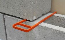 Masonry Fork & Compacting Trowel. Cement Block and Brick Joint Spacer Tool.