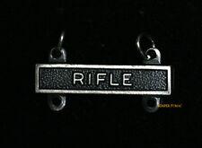 RIFLE QUALIFICATION BAR BADGE RIFLE OB012 US ARMY Expert Sharpshooter Marksman