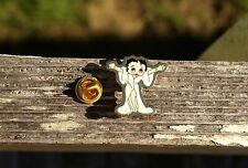 Betty Boop Sexy Fur Coat Ready For Hug Gold Tone Metal Enamel Lapel Pin Pinback