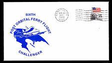 1983 SIXTH POST ORBITAL FERRY FLIGHT - CHALLENGER - EDWARDS, CA (ESP#2738)