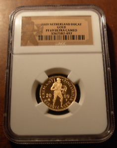 Netherlands 2009 Gold Trade Ducat NGC PF69UC