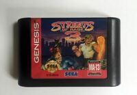 Streets of Rage 3 Genesis Sega Game Card Mega 16 Bit Drive Md Video Megadrive