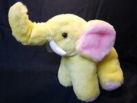"9"" Elephant Vintage Kellytoy Kelly Trading Plush Toy Stuffed Animal"